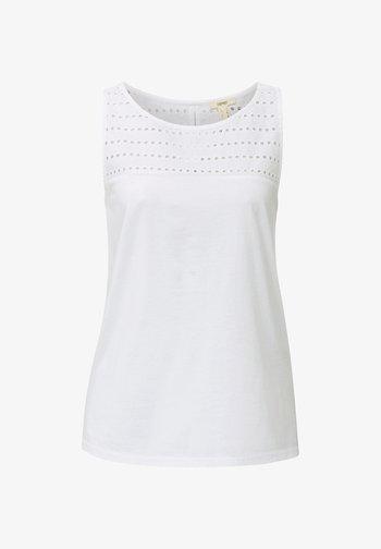 EYELET - Top - white