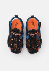 Skechers - HYPNO SPLASH - Walking sandals - black/blue/orange - 3