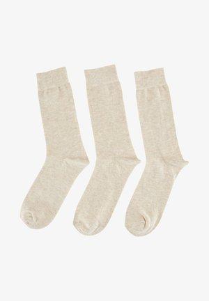 3 PACK - Socks - brown