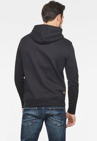 G-Star - PREMIUM CORE - Sweat à capuche - black - 1