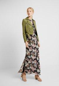 Anna Field - Maxi dress - blue/rose - 2