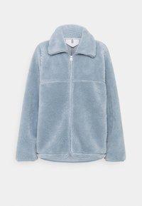 Fleece jacket - dusty blue