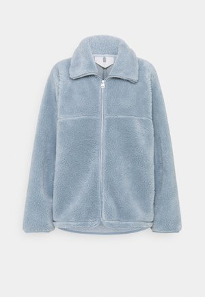 Fleece jacket - dusty blue