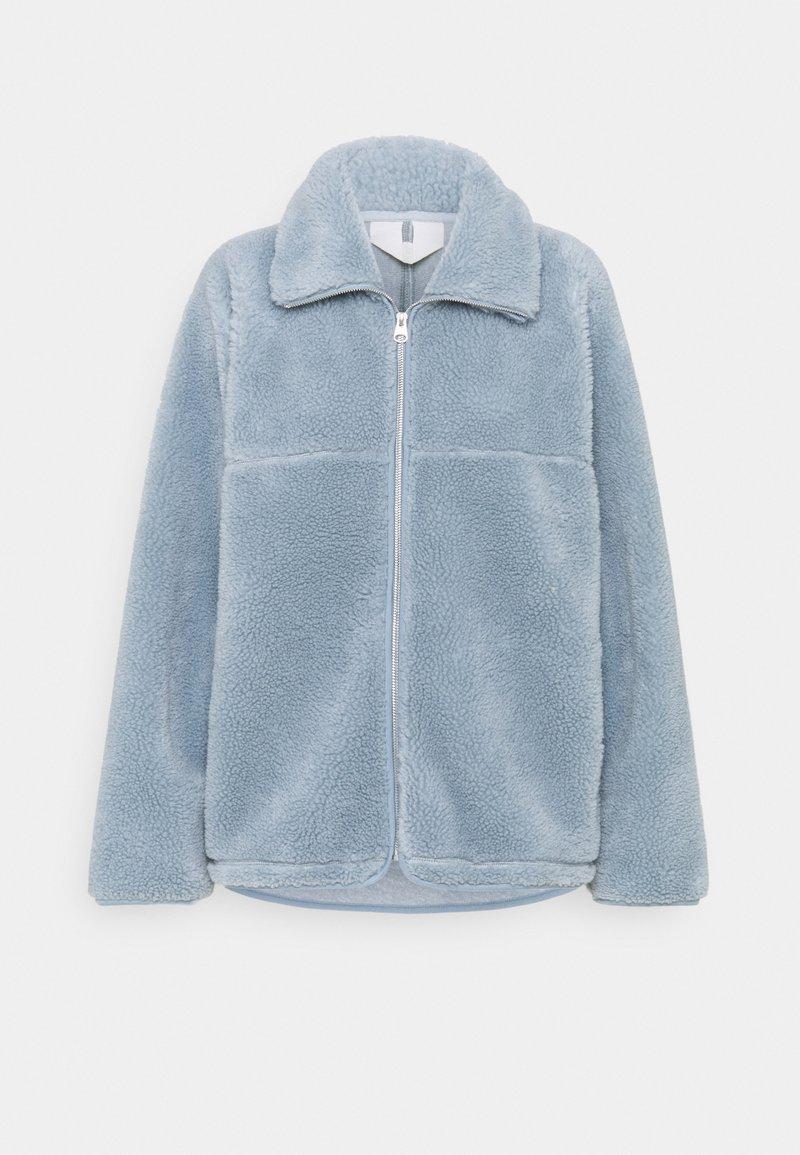 ARKET - Fleece jacket - dusty blue