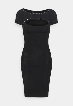 ABITO DRESS - Robe pull - nero