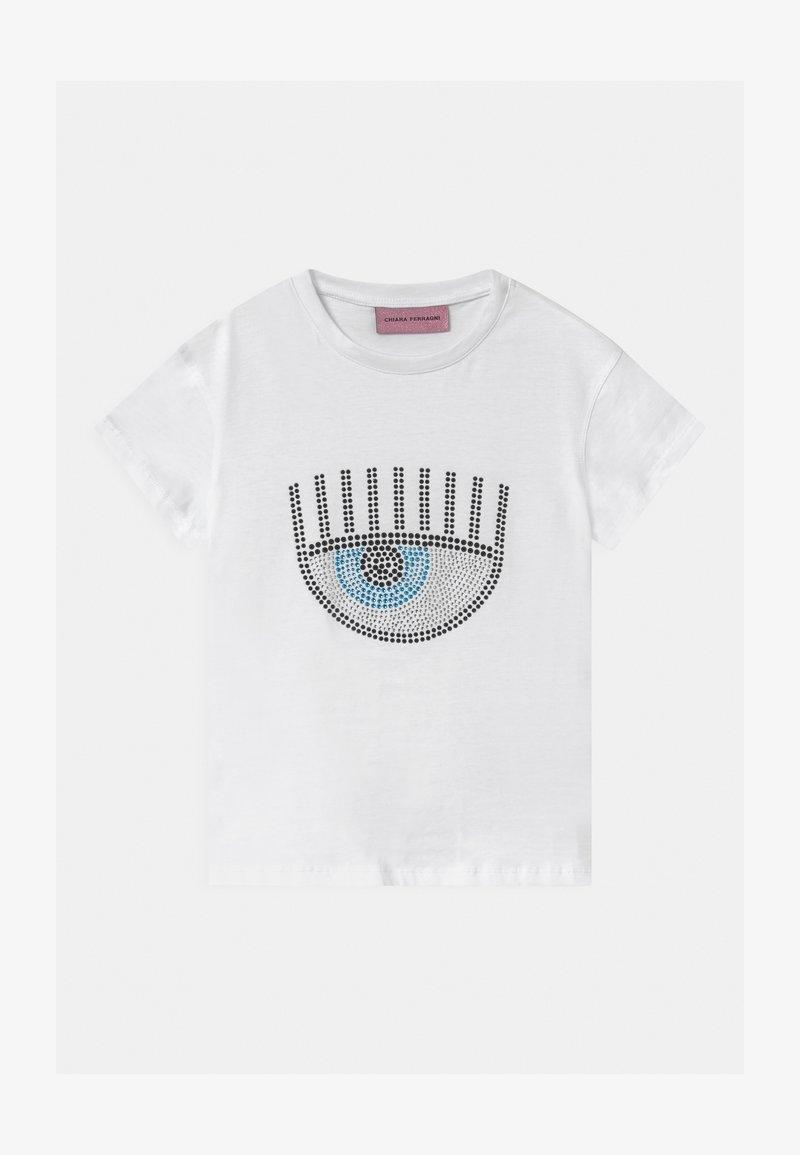CHIARA FERRAGNI - KIDS LOGO - Print T-shirt - white