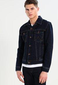 Wrangler - WESTERN - Denim jacket - blue black - 0