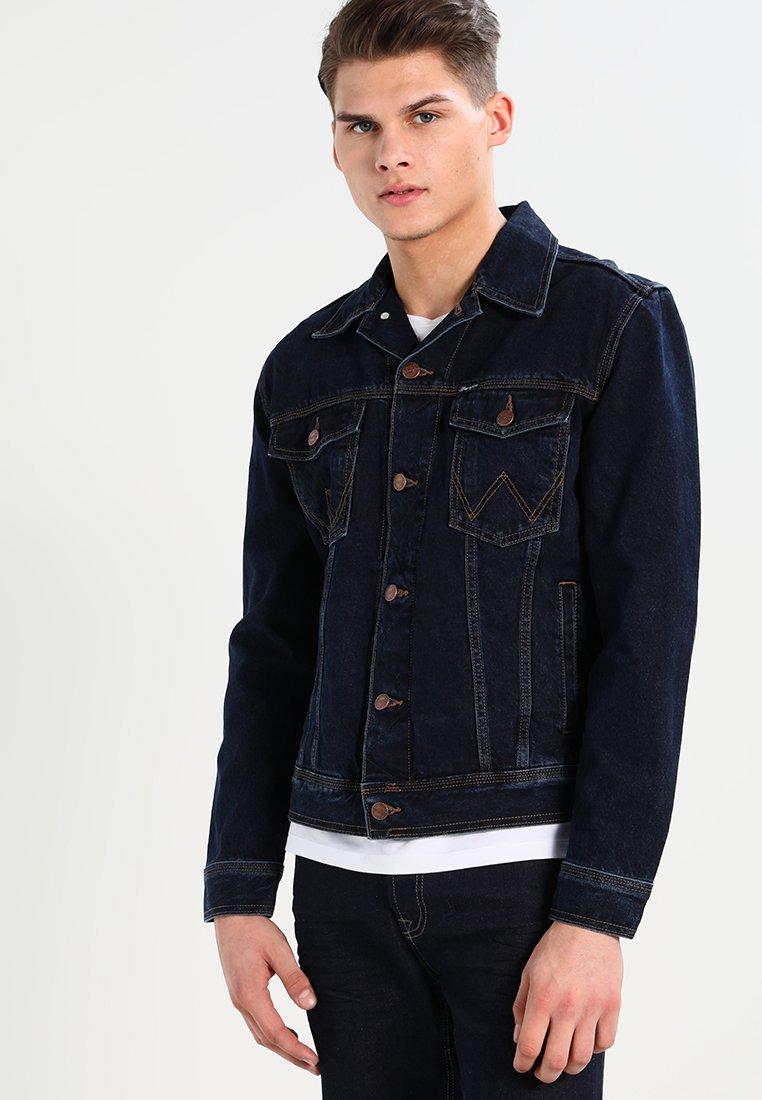 Wrangler - WESTERN - Denim jacket - blue black