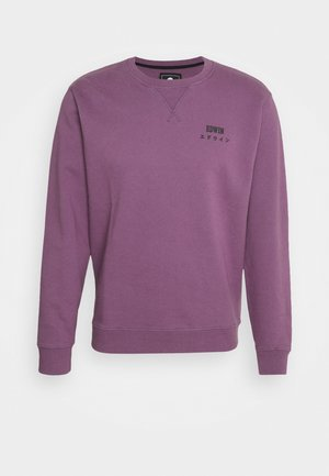 BASE CREW - Sweatshirt - chinese violet