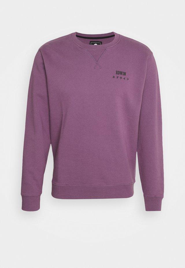 BASE CREW - Collegepaita - chinese violet
