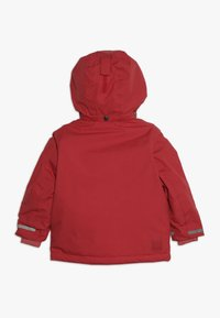 Didriksons - OSTRONET KIDS JACKET - Waterproof jacket - rasberry red - 1