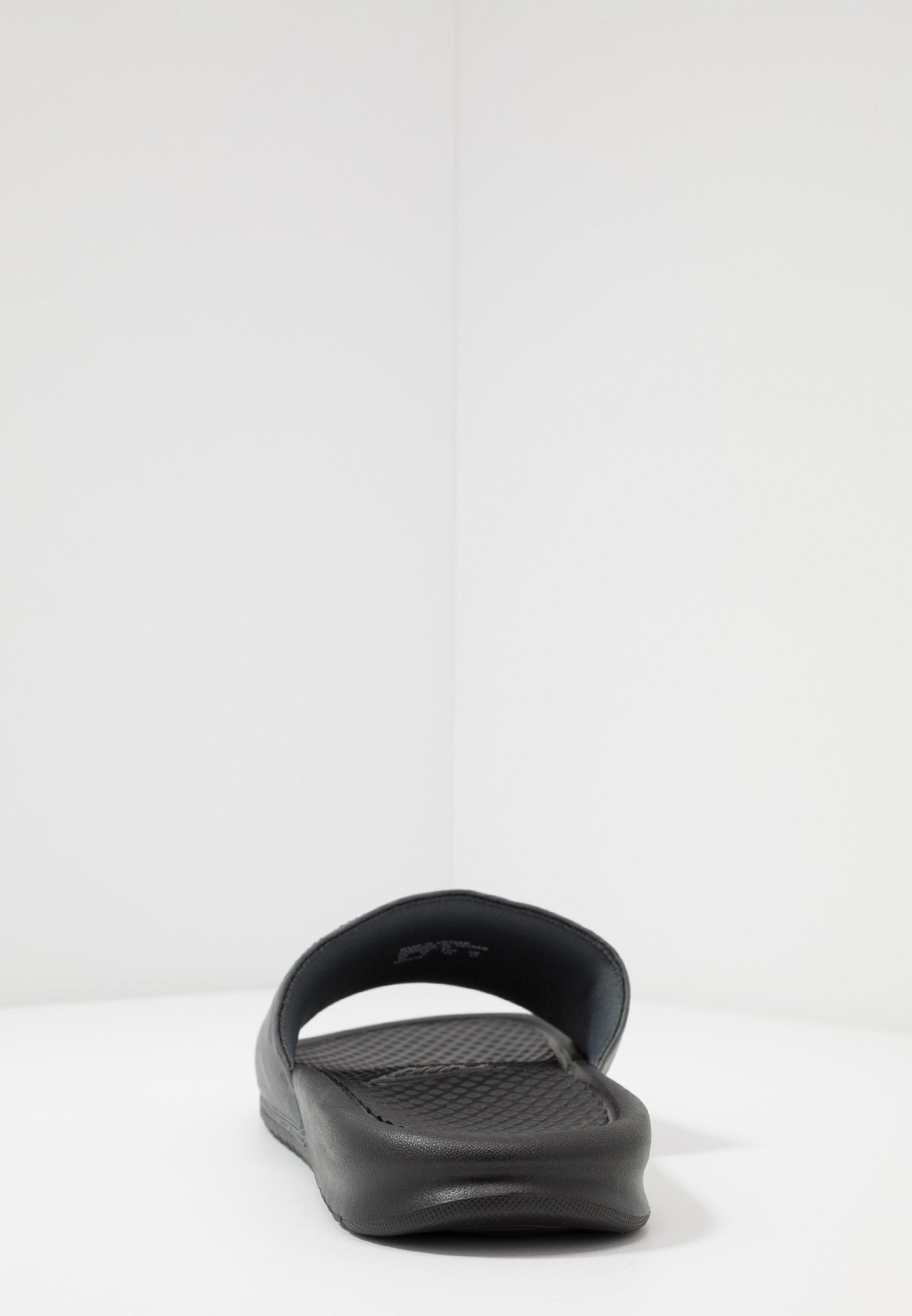 Nike Sportswear Benassi Jdi - Badesandaler Black/laser Orange/iron Grey