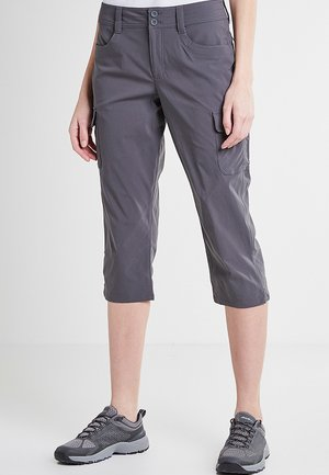 3/4 sports trousers - dunkles rauch