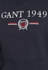 GANT - 1949 CREST HOODIE - Hoodie - evening blue - 6