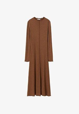 Robe pull - marron