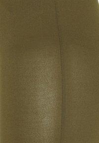 Vila - VIBE BIKER 2 PACK - Shorts - black/dark olive - 4