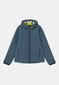 CMP - KID FIX HOOD UNISEX - Soft shell jacket - plutone - 0