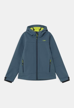 KID FIX HOOD UNISEX - Soft shell jacket - plutone