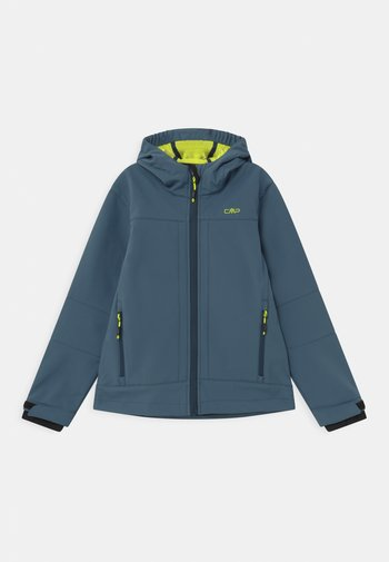 FIX HOOD UNISEX - Soft shell jacket - plutone