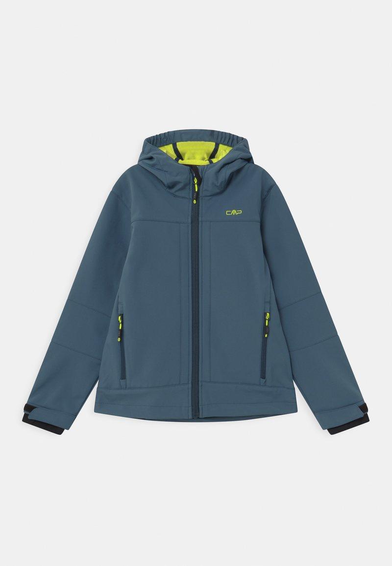 CMP - KID FIX HOOD UNISEX - Soft shell jacket - plutone