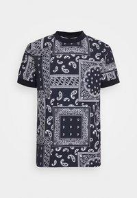 DRYKORN - ANTON - Basic T-shirt - dark blue - 4