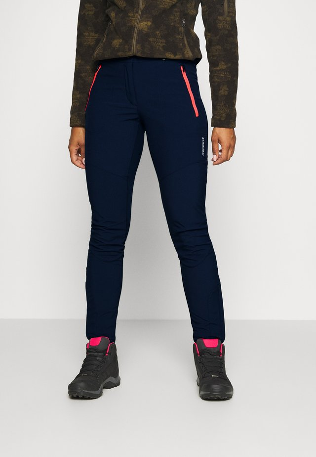 DORAL - Pantalons outdoor - dark blue
