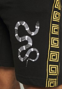 Brave Soul - SNAKE PRINTED SET - Print T-shirt - black - 7