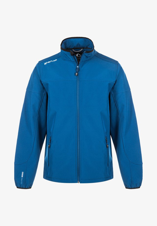 DUBLIN - Soft shell jacket - poseidon