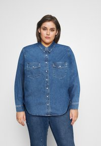 Levi's® Plus - ESSENTIAL WESTERN - Button-down blouse - going steady - 0
