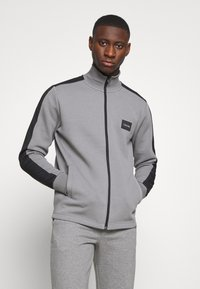 Calvin Klein - SOLID MIX BACK LOGO JACKET - Summer jacket - grey