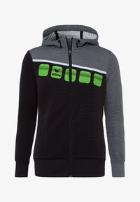 Erima - Zip-up hoodie - black/grey - 4