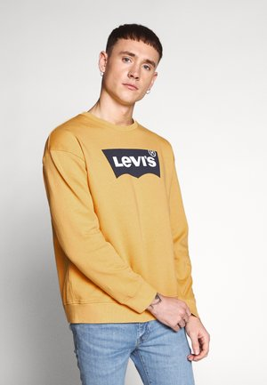 RELAXED GRAPHIC CREWNECK - Felpa - golden apricot