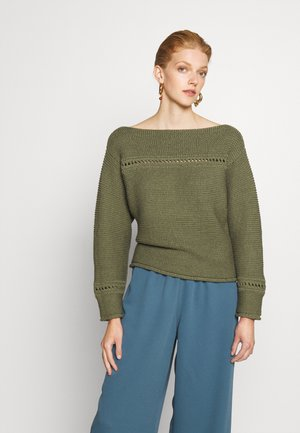 BOATNECK - Pullover - military