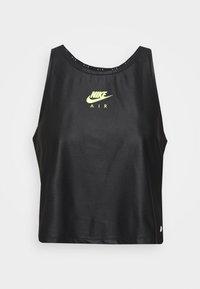AIR TANK - T-shirt de sport - black/volt