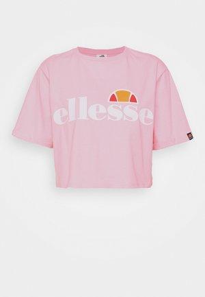 ALBERTA - T-shirts print - light pink