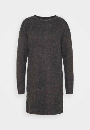 JDYCORDELIS DRESS  - Jumper dress - dark grey melange