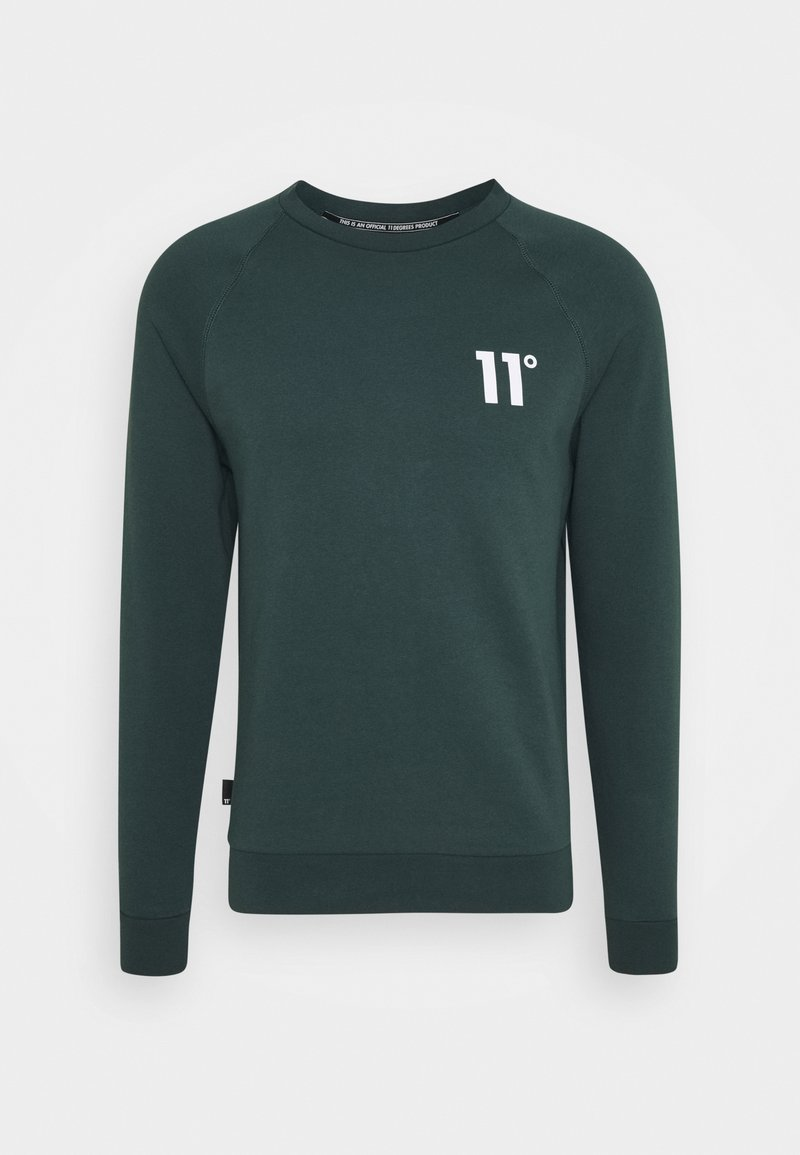 11 DEGREES - CORE - Sweatshirt - darkest spruce grey