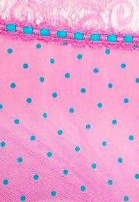 Playful Promises - SOPHIA HIGH WAIST RIBBON THONG CURVE - Thong - pink - 2