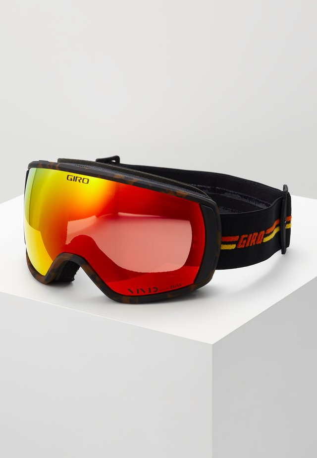 BLOK - Masque de ski - black/orange