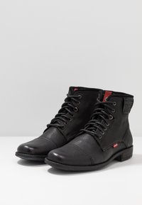 Levi's® - FOWLER - Lace-up ankle boots - regular black - 2