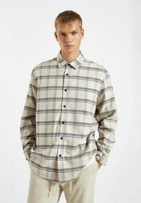 PULL&BEAR - Shirt - beige - 0