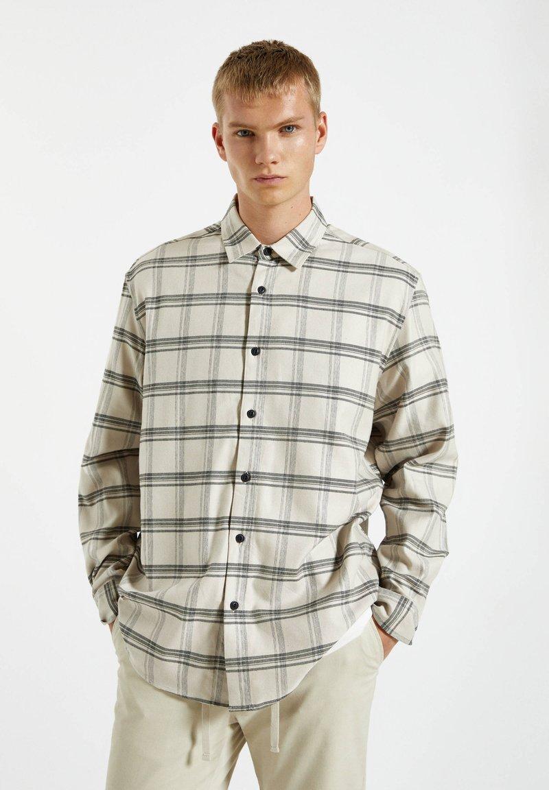 PULL&BEAR - Shirt - beige