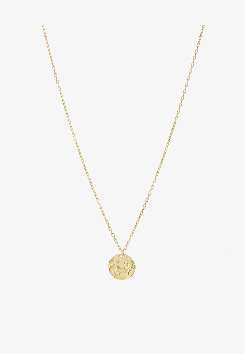 LIARS & LOVERS - LION COIN - Necklace - gold-coloured
