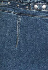 Simply Be - WIDE LEG - Jeans baggy - vintage blue - 2