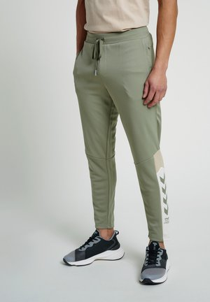 HMLALEC  - Tracksuit bottoms - vetiver