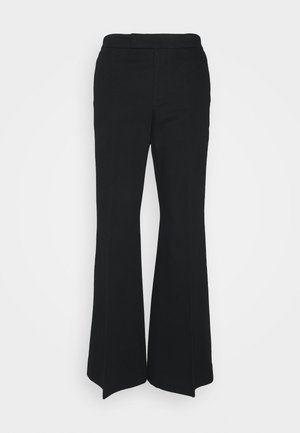 RELAXED WIDE LEG PANT - Pantaloni - black