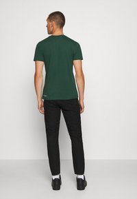 KnowledgeCotton Apparel - ALDER MOUNTAIN TEE - Triko s potiskem - green - 2