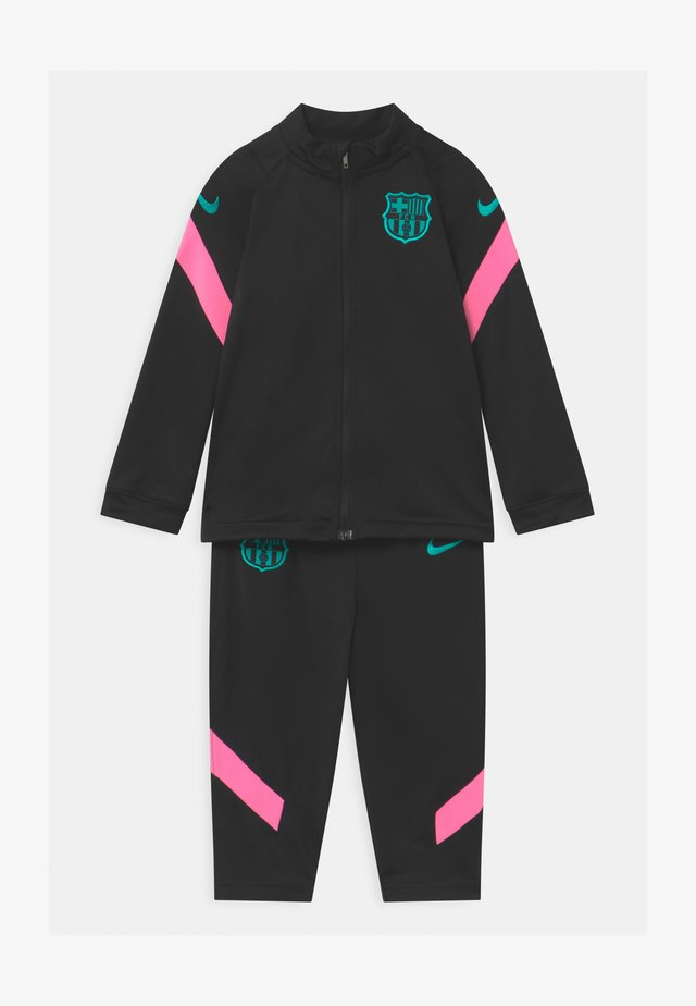 FC BARCELONA SET UNISEX - Equipación de clubes - black/pink beam/new green