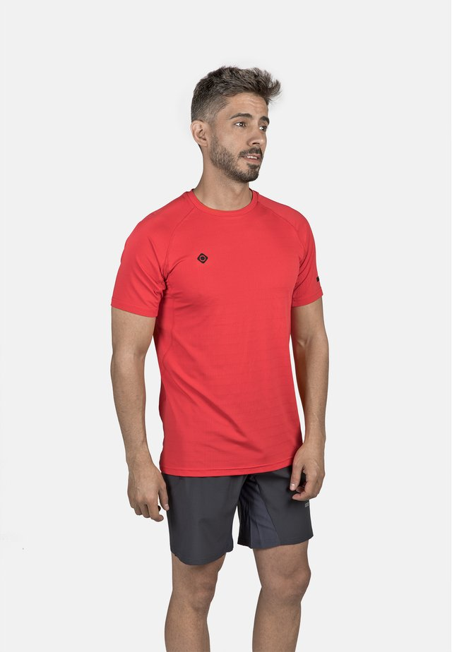 T-shirt sportiva - red