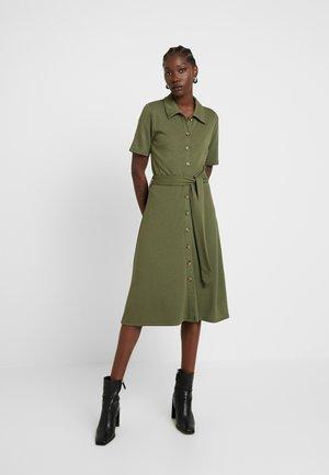 SLFUTILITY MIDI DRESS EX - Jersey dress - olive night